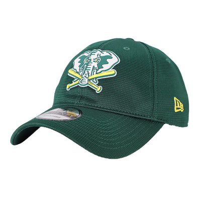 Oakland Athletics New Era 2020 On-Field Clubhouse Green 9Twenty Strapback Hat