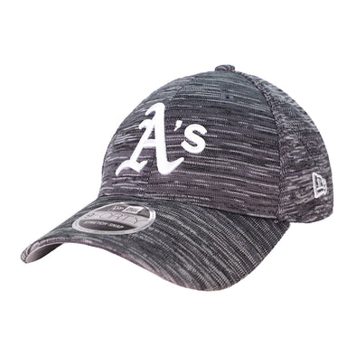 Oakland Athletics New Era A's Tech Gray 9Forty Stretch-Snapback Hat
