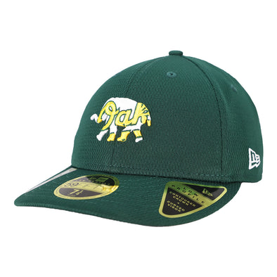 Oakland Athletics New Era 2020 On-Field/Spring Training Green Low Profile 59Fifty Fitted Hat
