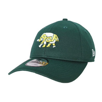 Oakland Athletics New Era Batting Practice Green 9Twenty Strapback Hat