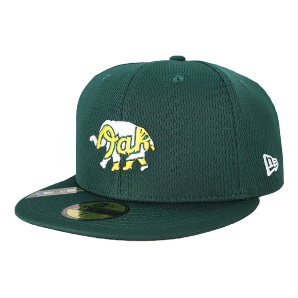 Oakland Athletics New Era 2020 On-Field/Spring Training Green 59Fifty Fitted Hat