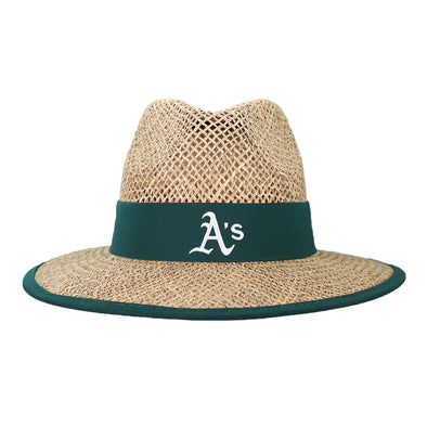 Oakland Athletics New Era Straw Shaded Hat