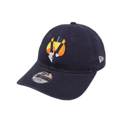 Kids' Las Vegas Aviators New Era Home Navy 9Twenty Strapback Hat