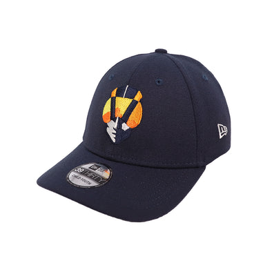 Kids' Las Vegas Aviators New Era Home Navy 39Thirty Stretch Fit Hat