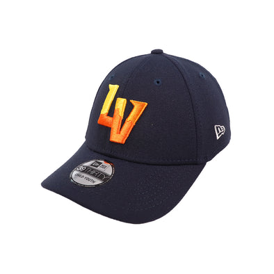 Kids' Las Vegas Aviators New Era Road Navy 39Thirty Stretch Fit Hat