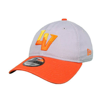 Las Vegas Aviators New Era Alternate Gray/Orange 9Twenty Strapback Hat
