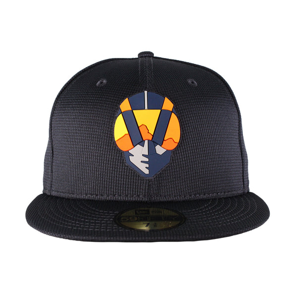 Kids' Las Vegas Aviators New Era Aviator Clubhouse Navy 59Fifty Fitted Hat