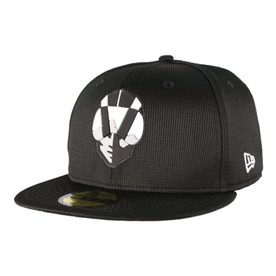Kids' Las Vegas Aviators New Era Aviator Clubhouse Black 59Fifty Fitted Hat