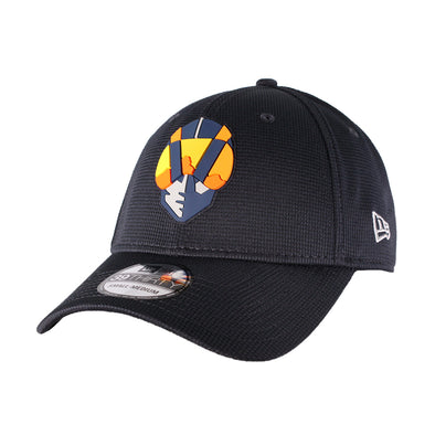 Kids' Las Vegas Aviators New Era Aviator Clubhouse Navy 39Thirty Stretch Fit Hat