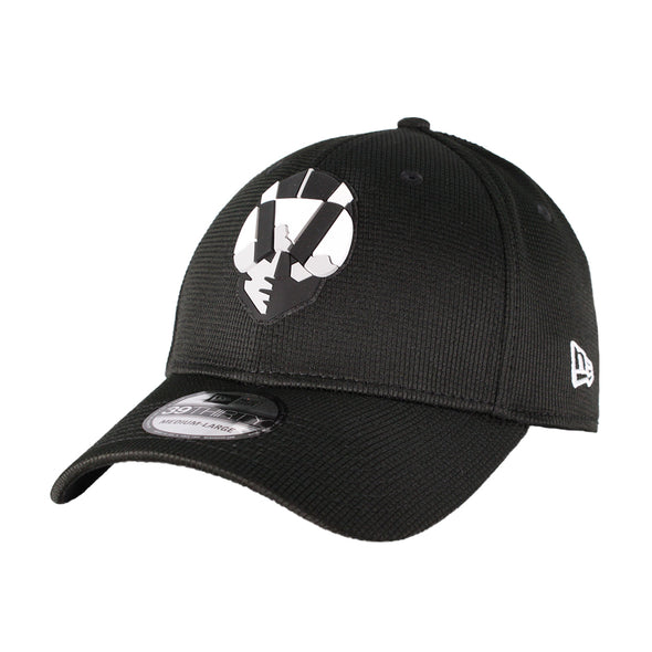 Las Vegas Aviators New Era Aviator Clubhouse Black 39Thirty Stretch Fit Hat