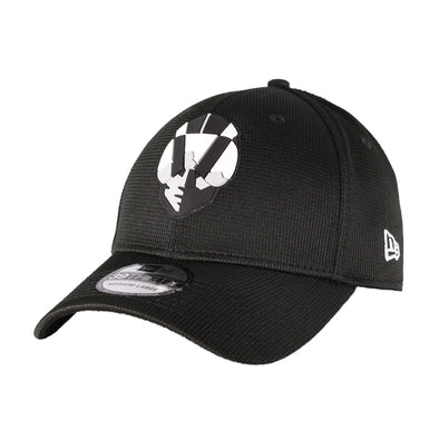 Kids' Las Vegas Aviators New Era Aviator Clubhouse Black 39Thirty Stretch Fit Hat