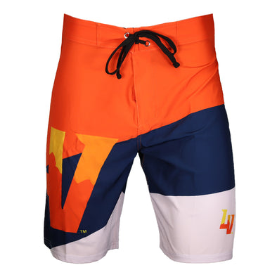 Men's Las Vegas Aviators FOCO Cropped LV Color Dive Boardshorts
