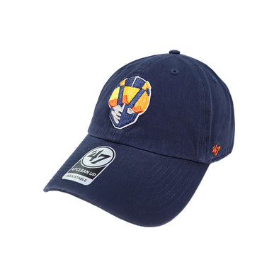 Las Vegas Aviators '47 Brand Aviator Navy Clean Up Strapback Hat