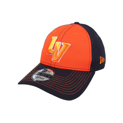 Las Vegas Aviators New Era LV Clutch Navy/Orange 9Forty Snapback Hat