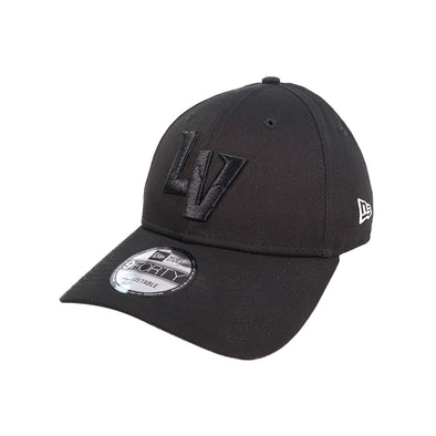 Las Vegas Aviators New Era LV Clutch Black/Black 9Forty Snapback Hat