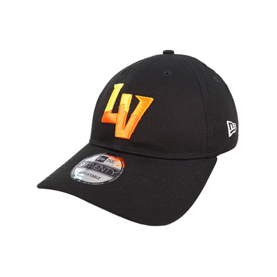 Las Vegas Aviators New Era LV Clutch Black 9Twenty Strapback Hat