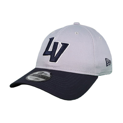 Las Vegas Aviators New Era LV Clutch Gray/Navy 9Twenty Strapback Hat