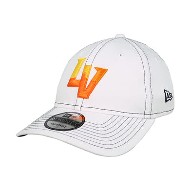 Las Vegas Aviators New Era LV Clutch White 9Twenty Strapback Hat