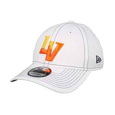Las Vegas Aviators New Era LV Clutch White 9Forty Snapback Hat