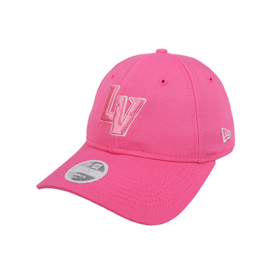 Women's Las Vegas Aviators New Era LV Clutch Pink 9Twenty Strapback Hat