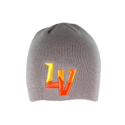 Las Vegas Aviators New Era LV Clutch Knit Gray Beanie