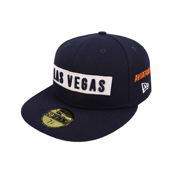 Las Vegas Aviators New Era Las Vegas Multi Navy 59Fifty Fitted Hat