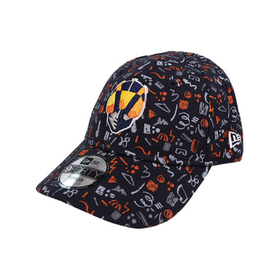Kids' Las Vegas Aviators New Era Aviator Pattern Navy 9Forty Stretch Elastic Hat