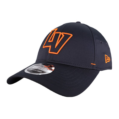 Las Vegas Aviators New Era LV Outline Navy/Orange 9Forty Stretch-Snapback Hat