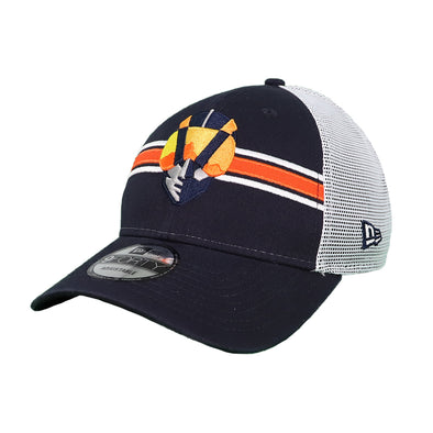Las Vegas Aviators New Era Aviator Bold White/Navy Trucker 9Forty Snapback Hat