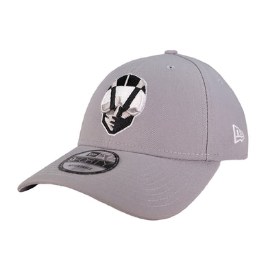 Las Vegas Aviators New Era Aviator The League Gray 9Forty Velcroback Hat
