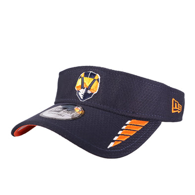 Las Vegas Aviators New Era Aviator Speed Navy/Orange Velcroback Visor Hat