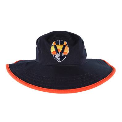 Las Vegas Aviators New Era Aviator Panama Navy/Orange Bucket Hat