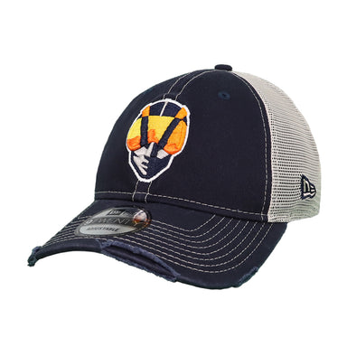 Las Vegas Aviators New Era Aviator Worn Trucker White/Navy 9Twenty Snapback Hat