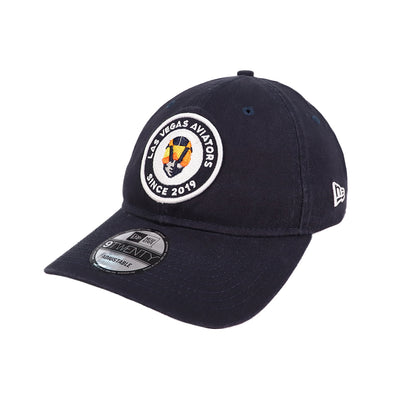 Las Vegas Aviators New Era Aviator LVA Since 2019 Circle Navy 9Twenty Strapback Hat