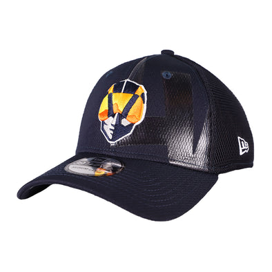 Las Vegas Aviators New Era Aviator Tonal Neo Navy 39Thirty Stretch Fit Hat