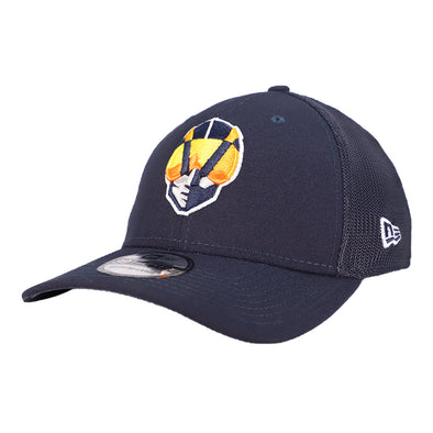 Las Vegas Aviators New Era Aviator Team Mesh Navy 39Thirty Stretch Fit Hat