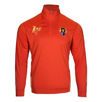 Men's Las Vegas Aviators Vansport LV/Aviator 1/4 Zip Orange Polyester Jacket
