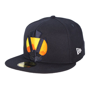 Las Vegas Aviators New Era Aviator Logo Elements Navy 59Fifty Fitted Hat