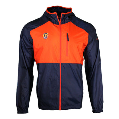 Men's Las Vegas Aviators Columbia Flash Forward Orange/Navy Windbreaker Jacket