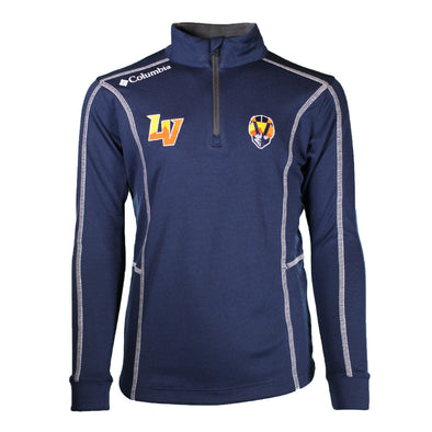 Kids' Las Vegas Aviators Columbia LV/Aviator Shotgun Navy 1/4 Zip Jacket