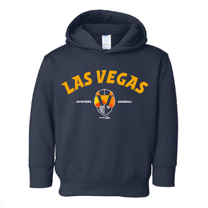 Toddlers' Las Vegas Aviators LAT Apparel Las Vegas Aviators Baseball Navy Fleece Hoodie