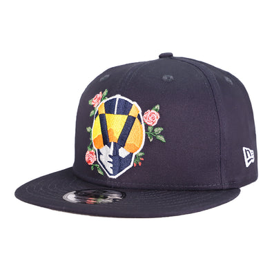 Las Vegas Aviators New Era Aviator Bloom Navy 9Fifty Snapback Hat