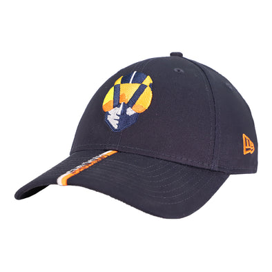 Las Vegas Aviators New Era Aviator Callout Navy 9Forty Snapback Hat