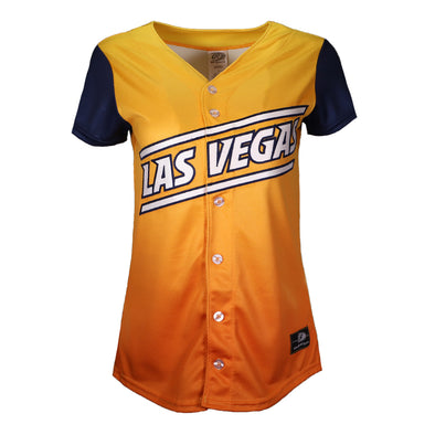 Women's Las Vegas Aviators OT Sports Road Alternate Gradient/Blue Replica Jersey
