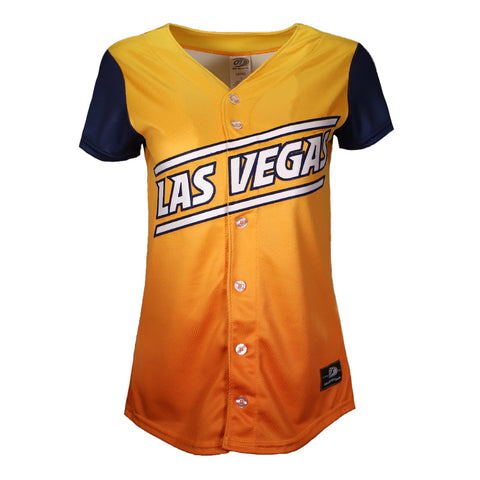 Women's Las Vegas Aviators OT Sports Road ALT Replica Gradient/Blue Jersey