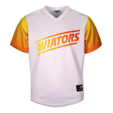 Toddlers' Las Vegas Aviators OT Sports Home White/Gradient Replica Jersey