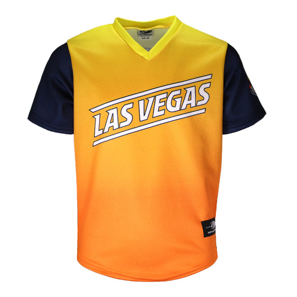 Toddlers' Las Vegas Aviators OT Sports Road Alternate Gradient/Blue Replica Jersey
