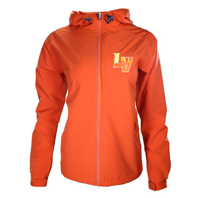Women's Las Vegas Aviators Vantage LV Newport Orange Jacket
