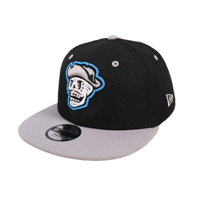 Kids' Las Vegas Reyes de Plata New Era Black/Gray 9Fifty Snapback Hat