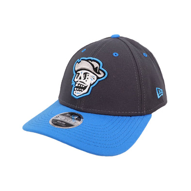 Kids' Las Vegas Reyes de Plata New Era Graphite/Blue 9Forty Stretch-Snapback Hat